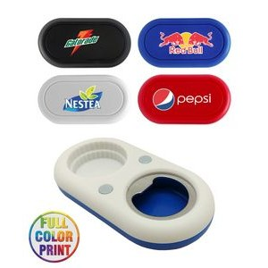 2-in-1 Magnet Bottle Opener 2-in-1 Magnet Bottle Opener - Full Color
