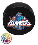 Custom Hockey Puck Stress Ball - Full Color