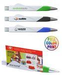 Custom Business Card Holder Pen - Full Color