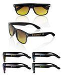 Custom Black Gradient Lenses Malibu Sunglasses