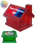 Custom Union Printed House Shaped Coin Bank Box - Full Color Print