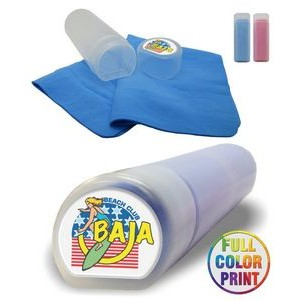 Cooling Towel w/Case Full Color Dome Print Included - NO MINIMUM