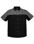 Custom Tri-Mountain Racewear Men's Downshifter Twill Shirt