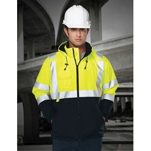 Tri-Mountain® Safety Workwear Beacon Windproof/ Water Resistant Jacket