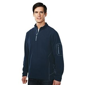 Fairbanks Men's Micro Fleece Pullover Jacket