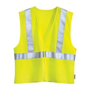 Tri-Mountain® Safety Workwear Zone Mesh Safety Vest w/ 3M Reflective Tape