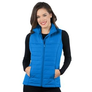 Tri-Mountain Women's Quilted Puffer Vest