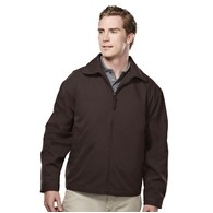 Men's Avenue Twill Water Resistant Polyester Shell Jacket