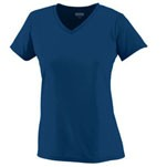 Augusta Sportswear Ladies' Poly Short Sleeve Wicking T-Shirt