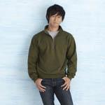Custom Gildan Adult Vintage Classic 1/4 Zip Sweatshirt