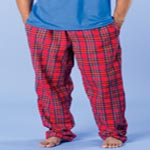 Custom Robinson Apparel Adult Cotton Flannel Pocket Pants