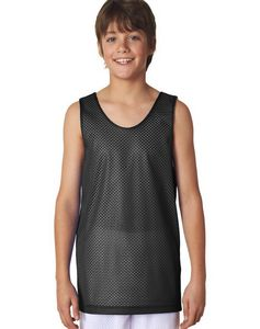 A4 Youth 3.4 Ounce Poly Reversible Basketball Jersey Tank Top