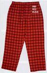 Custom Robinson Apparel Adult Gridiron Cotton Flannel Pajama Pants