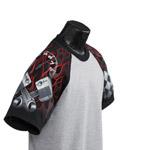 Custom Everyday Life White Adult Generic Racing Theme Sleeved Jersey T-Shirt