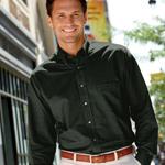 Custom Van Heusen Long Sleeve Oxford Button-Down Dress Shirt