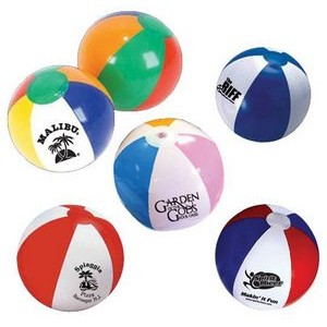 "16"" Official Size Inflatable Beach Ball - As Low As $0.95"