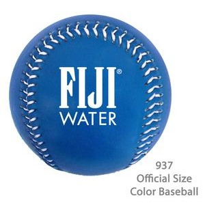 Official Size Baseball In Fashionable Colors - Medium Blue