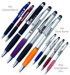 Custom Smart Phone Pen W/Stylus & Comfort Grip