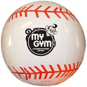 "large 16"" Inflatable Sports Beach Ball (Baseball)"