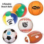 Custom Inflatable Ball Group-Beach Ball, Football, Baseball, Basketball, Soccer
