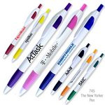 Custom The New Yorker Ballpoint Pen w/Comfort Grip