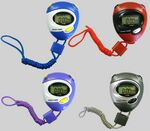 Custom Digital 2-Tone Stop Watch w/Chronometer/ Alarm/ Clock