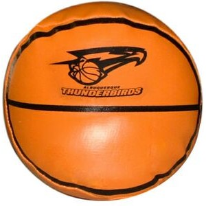 "4"" Basketball Squeezable Sports Ball"