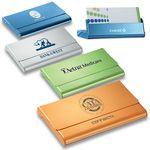 Custom 2-in-1 Business Card Case & Desktop Card Holder