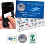 Custom Clingwipe Full Color Microfiber Sticky Screen Cleaner 1