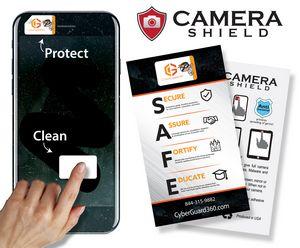Camera Shield .82 x .5 inch. (21 x 13mm) Full Color