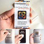 Custom PLUSWIPE - Full Color Microfiber Sticky Screen Cleaner 1.1