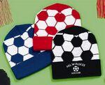 Custom Soccer Design Acrylic Knit Hat, Knit Cap