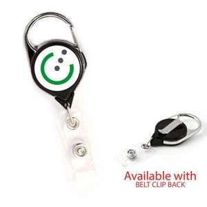 Retract-A-Badge™ Carabiner Badge Holder