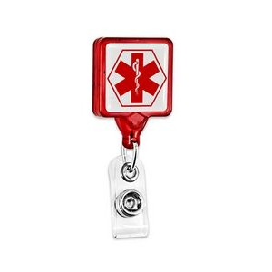 Mini-Bak® Square Badge Retractor