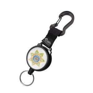Securit Xtreme Duty Retractable Key Ring & Carabiner