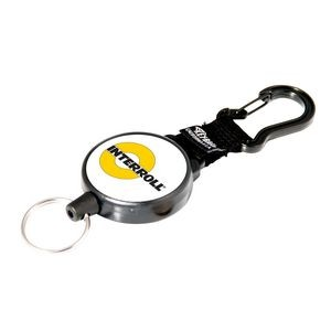 Securit Retractable Key Ring & Carabiner