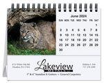 Custom Wildlife Tent Desk Calendar