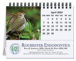 Custom Bird Watching Tent Desk Calendar