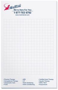 5 3/8x8 3/8 Scratch Pad w/ 50 Sheets