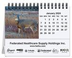 Custom American Wildlife Tent Desk Calendar