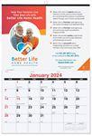 Custom Single Image Monthly Wall Calendars (Custom Photo/Imprint)