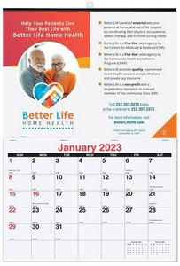 12x17 3/8 Monthly Wall Calendars