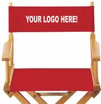 Custom DCCP - Director Chair Canvas Set - Seat and Back - Printed