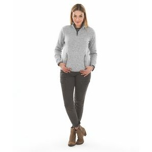 Women's Heathered Fleece Pullover Shirt