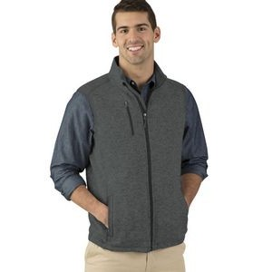 Men's Pacific Heathered Fleece Vest