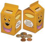 Custom Milk Carton Bank