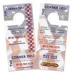 Custom Door Hangers and Car Tags with Tear Off Door Hanger/Car Tag with Tear Off