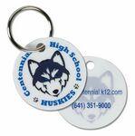 Custom Laminated Circle Pet Tag/ Zipper Pull