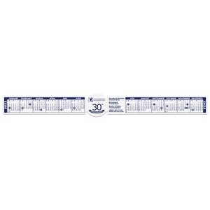 "Circle Monitor/Keyboard Strip Calendar (16""x2"")"