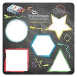 Custom Laminated Learn Your Shapes Stencil
